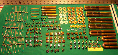 200 new old stock FRENCH HORN PARTS FOR REPAIRS - DIFFERENT KINDS & BRANDS
