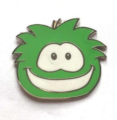 Disney Pin Badge Club Penguin - Puffles- Green Puffle