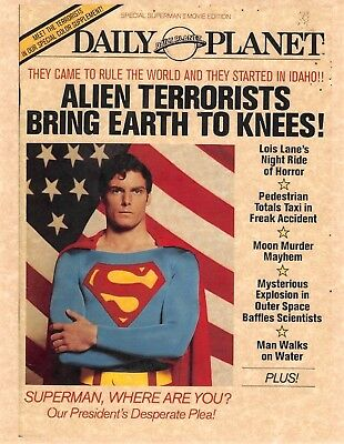 Daily Planet Superman > Alien Terrorists Bring Earth To Its Knees > Man Of Steel