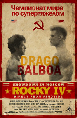 Rocky IV Showdown In Moscow > Rocky Balboa VS Ivan Drago > Poster > Stallone