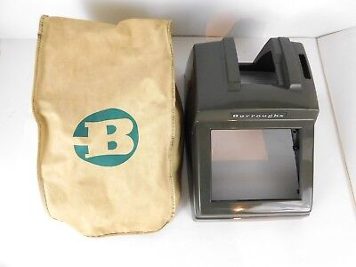 Vintage Burroughs Model J700 Ten Key Adding Machine OUTER SHELL & COVER ONLY