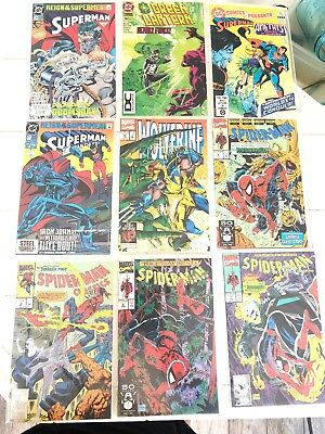Lot Of (9)SPIDER-MAN #8 Todd McFarlane (March 1991 Marvel) Assorted