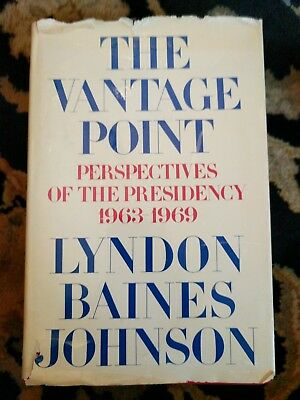 The Vantage Point Signed Lyndon B Johnson First Edition 1971