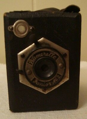 Vintage Mini Junior Kamerette Box Camera