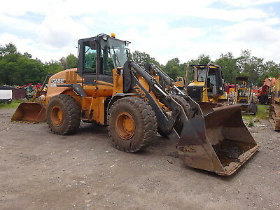 2007 Case 721D XT Wheel Loader NICE! ACS Q/C Bucket AUX HYD FOAM FILLED TIRES