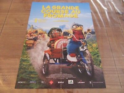 un poster du film d'animation LA GRANDE COURSE AU FROMAGE