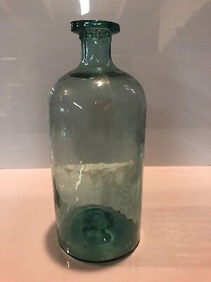 Large Open Pontil Antique Utility Apothecary Medicine Pharmacy Bottle Jar