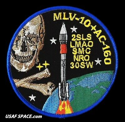 NROL-13 GEMINI - ATLAS II AS AC-160 - VAFB USAF DOD NRO SATELLITE Launch PATCH