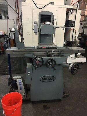 mitsui surface grinder 200 Mdx 6x12 Suburban Tool Inc Magnetic Chuck Sony Scales