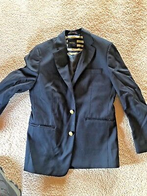 Nautica Navy Blazer Or Sportcoat, Gold Buttons, Boys 12