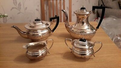 Viners Silver Plated Tea And Coffee set