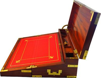 Exceptional triple writing box. Circa 1810. Perfect. Excepcional escritorio
