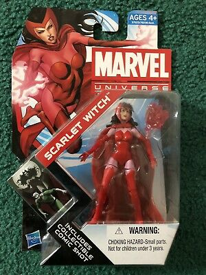 """Marvel Universe SCARLET WITCH 3.75"""" Action Figure #016 Hasbro 2011"""