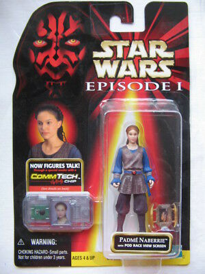 Star Wars Ep.1 - Padme Naberrie with Pod Race View Creen