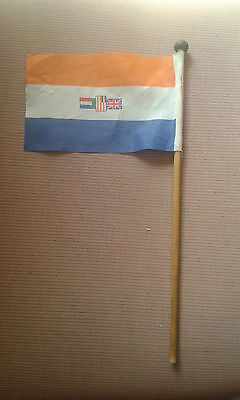 South African National Desk  Flag 1980's