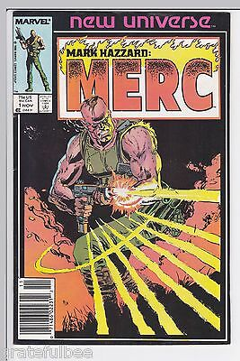 Mark Hazzard: MERC #1 - Marvel Comics - November 1986