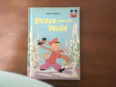 Walt Disney Peter And The Wolf. 1974 Book Club Edition