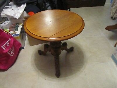 Antique Vintage  Craft Side coffee Table, 50 cm diameter and 48 cm high