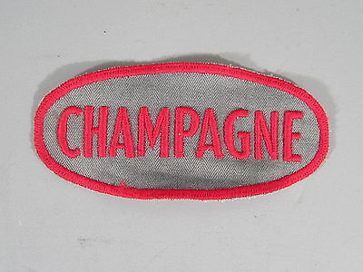 Champagne Gasoline Patch / New Old Stock of Closed Embroidery Company/ FREE Ship