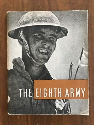 The Eighth Army : 1941-1943 British Vintage WWII 1944