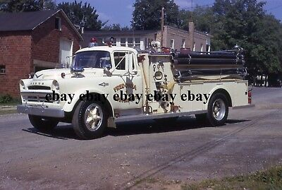 Fire Apparatus Slide - Fredonia PA - 1957 Dodge Sharpsville Engine