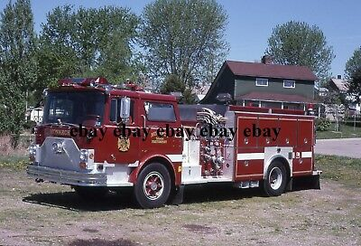Fire Apparatus Slide - Monarch PA - Mack 4-Guys Engine