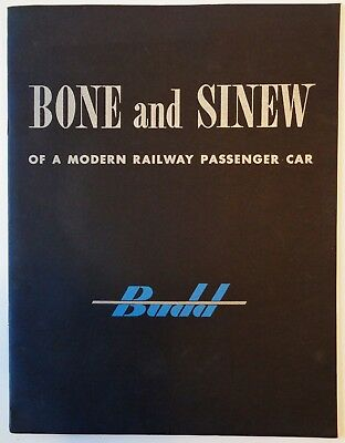 Budd Railroad Car Co. / 1946 Strength & Structure Advertising Brochure / Booklet