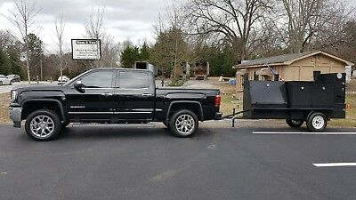 36 Grill Master Mobile BBQ Smoker Trailer Food Truck Concession Restaurant Cart