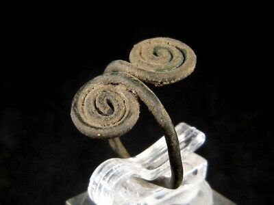 Very Rare Bronze Age Period, Spiral Bronze Ring+++