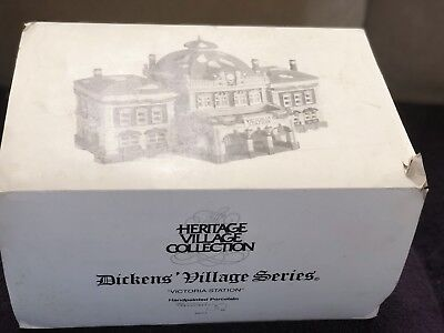 """Dept. 56 """"Victoria Station"""" from the Dickens Village Series 55743"""
