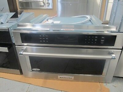 KitchenAid 30 In Stainless Steel Built In Convection Microwave Oven    KMBP100ESS
