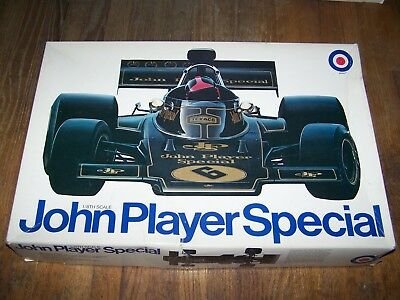 1/8  Entex Lotus 72D John Player Special Kit # 9039 New All Parts & Decals F/s