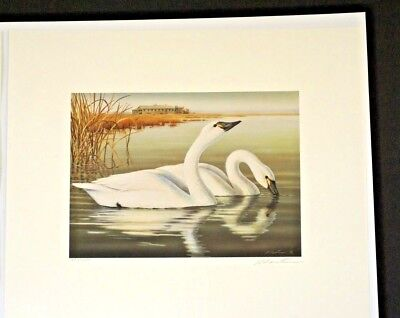 2001 New Jersey WATERFOWL STAMP PRINT BY
