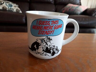 Vintage Footrot Flats Guess Were Going Steady Coffee Mug