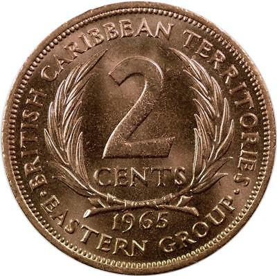 East Caribbean States - 2 Cents - 1965 - Unc