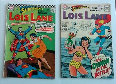 Superman's Girl Friend Lois Lane #73 #76. DC comics