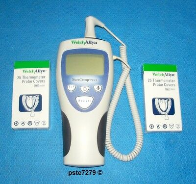 Welch Allyn; SureTemp Plus 692 Electronic Thermometer; Oral Probe; Probe Covers