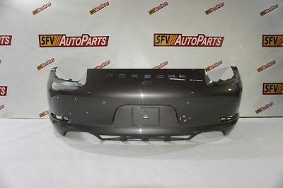 Porsche 911 Carrera Rear Bumper 2013 2014 2015 2016 991 505 411 01 Gray Oem