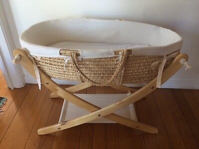 Seed Organic Baby Bassinet (Moses Basket)