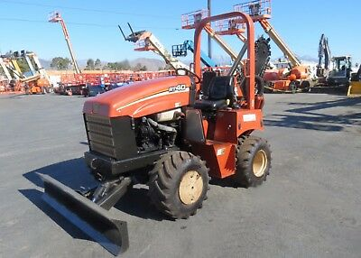 2007 Ditch Witch RT40 4x4 Trencher, 4-Way Blade, 42 HP Diesel, 660 Hours