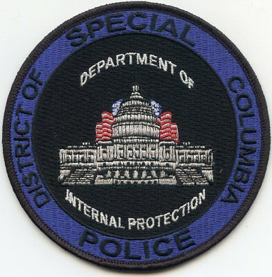 Washington Dc Department Of Internal Protection Special Police Patch