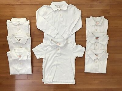 #2 The Childrens Place TCP Boys short long sleeve Polo Tops Size Small 5/6 Lot