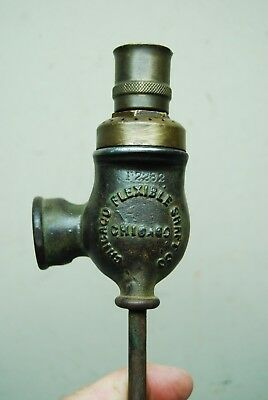 Antique Cast Iron / Copper Garden Sprinkler Chicago Flexible Shaft Co Jan 7-19