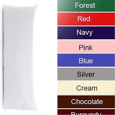 Easy Care Bolster Long Polycotton Pillow Case Only  17 Colours Available