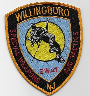 SWAT SRT Willingboro Police State New Jersey NJ Awesome patch