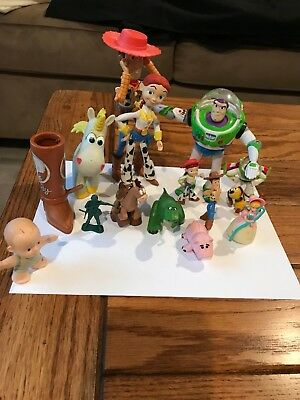 Disney Figurines-Toy Story 16 Pieces-Exc Pre Loved Condition