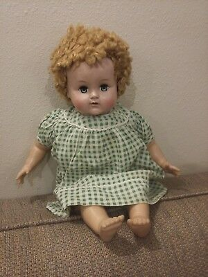 R & B Arranbee vintage rubber and cloth baby doll