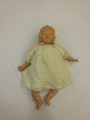 Vintage R&B Arranbee soft rubber and cloth baby doll