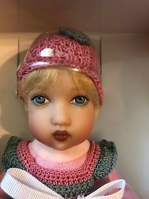 "Helen Kish 8"" Baby Doll Tatum— Very Cute— Blonde Hair And Blue Eyes- Adorable"