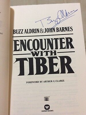 "Edwin ""Buzz"" Aldrin Signed Book Astronaut 2nd Man On The Moon"